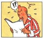 Tintin énervé