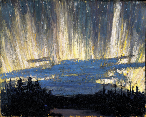 Tom Thomson - Northern Lights, Printemps 1916