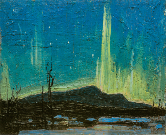 Tom Thomson - Northern Lights - Printemps 1917..png