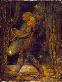 William Blake - Ghost of a Flea, around 1819