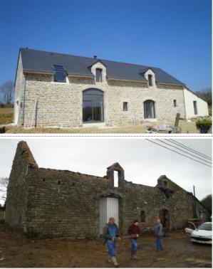 Exemple de réhabilitation en Bretagne