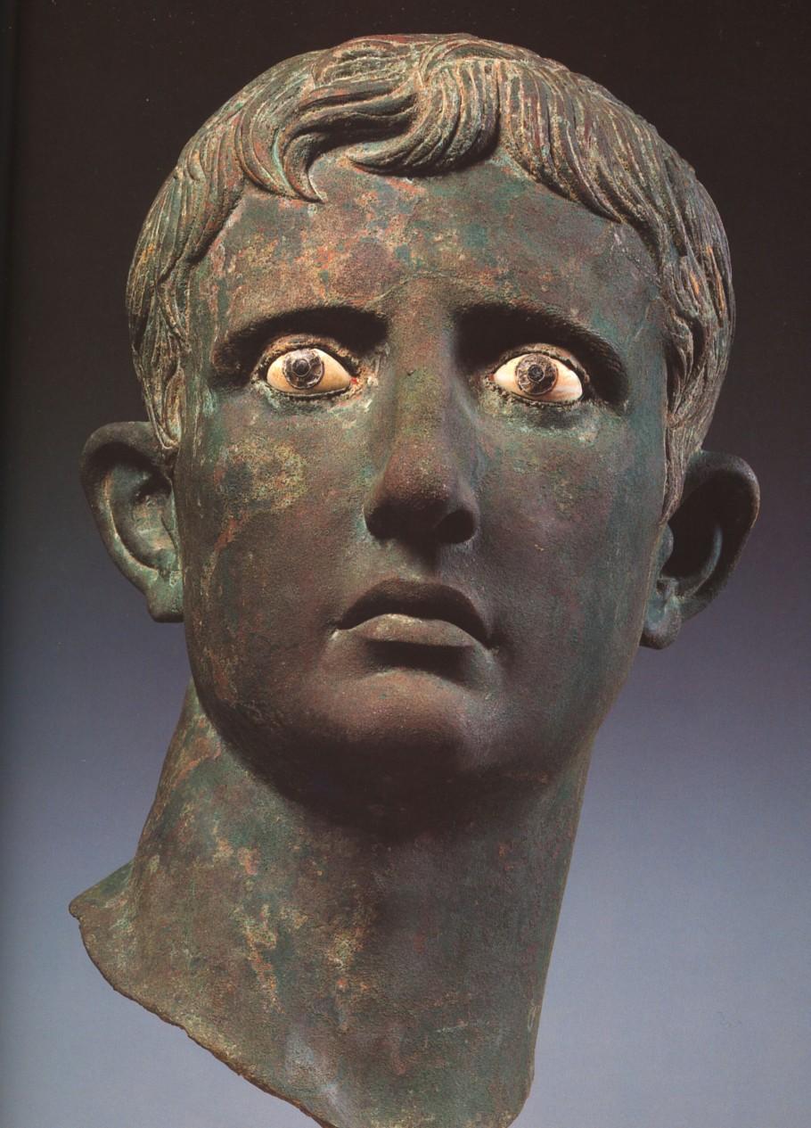 Gaius Julius Caesar Octavianus (63 av. JC - 14 ap.JC) - bronze
