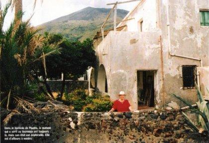 Maison du tournage de Stromboli