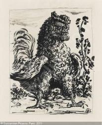 Pablo Picasso - le coq, 1942