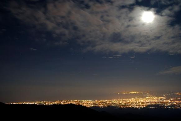 sicilia notte luna 2