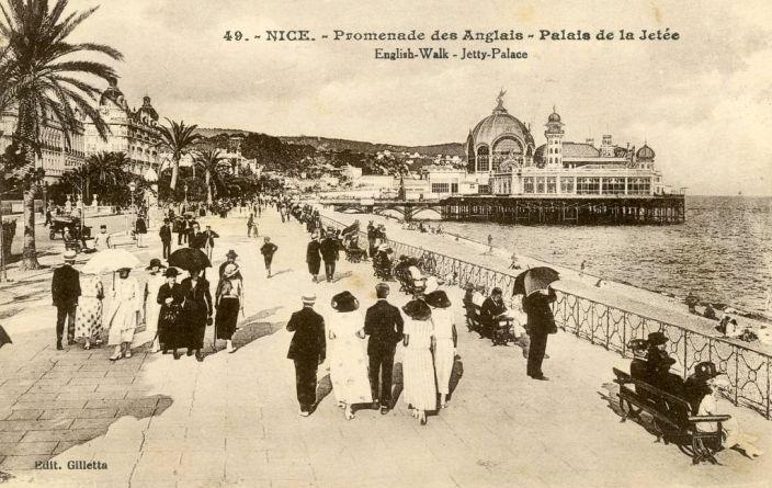 Le casino de la Jetée-Promenade, d'inspiration orientale. Construit en 1884, il est démantelé par la Wehrmacht en 1944.
