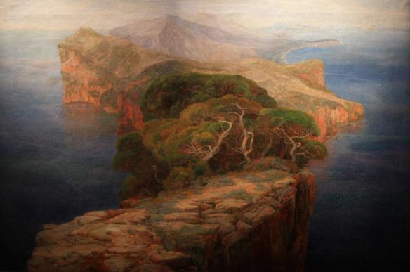 Paysage Odysséen, 1902 d'Emilie Mediz-Pelikan © Photo Éric Simon