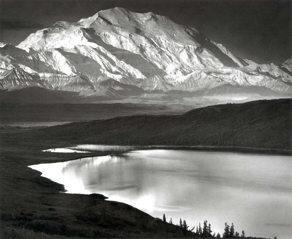 abbemar_1413934781_Ansel Adams, Mount McKinley and Wonder Lake