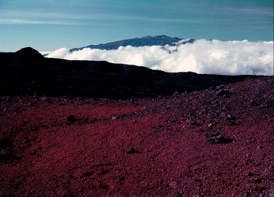 Ansel Adams - Mauna Kea from Mauna Loa, HawaÏ, 1948.png