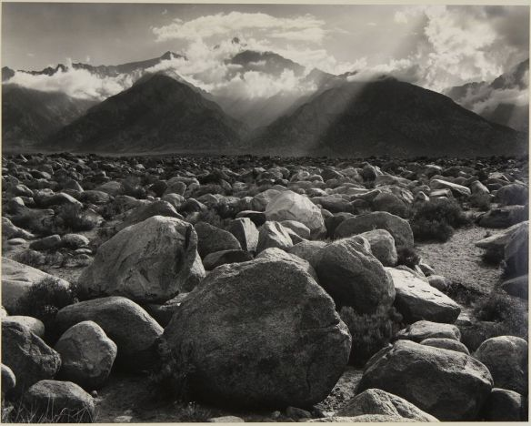 ansel adams mount williamson