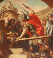 Fedele Fischetti (1734-1789) – Alexandre tranchant le nœud gordien