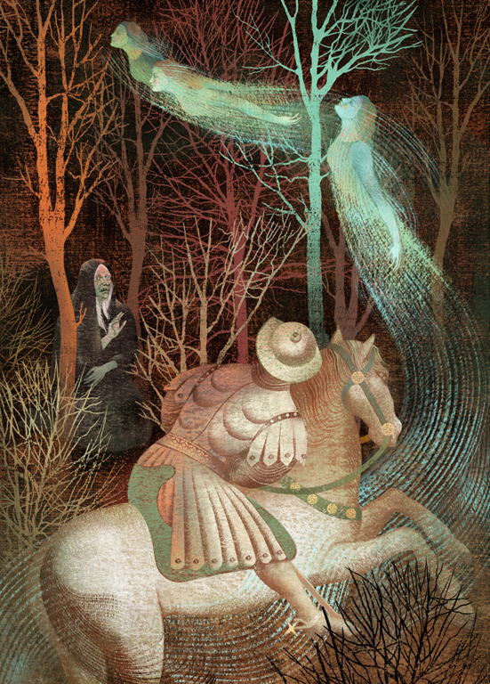 Gennady Spirin - The Children of Lir - 2014balbusso_canterburytale_6