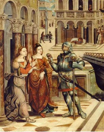 Thésée, Phèdre et Ariane
