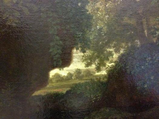 Nicolas Poussin - Détail du %22Printemps%22 (Les quatres saisons), entre 1660 et 1664