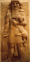 possible représentation d'Enkidu