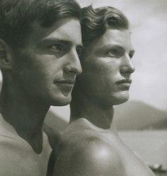 Rudolf Koppitz - Les frères, vers 1930