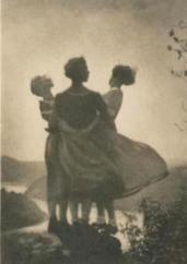 Rudolf Koppitz - Paysannes, vers 1930