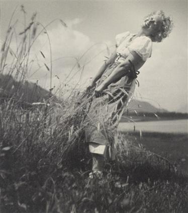 Rudolf Koppitz - Vacances (Liane Haid), vers 1930