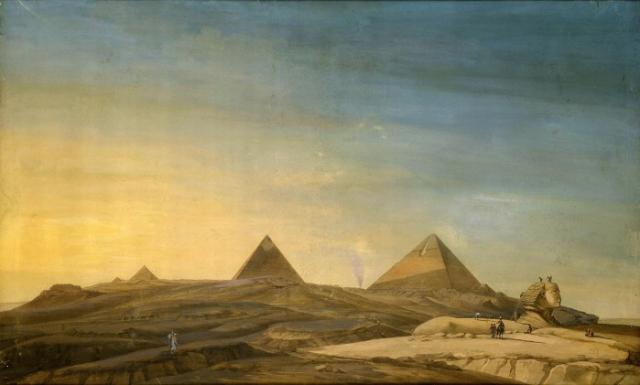 Charles Balzac (1752-1820) - le sphinx au soleil couchant