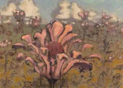 David Konigsberg - Bed of Pinks, 2016