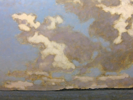 David Konigsberg - - watermark_Dusk_Germantown_36_x_48_inches