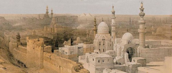 David Roberts - Tombeaux des califes, 1839