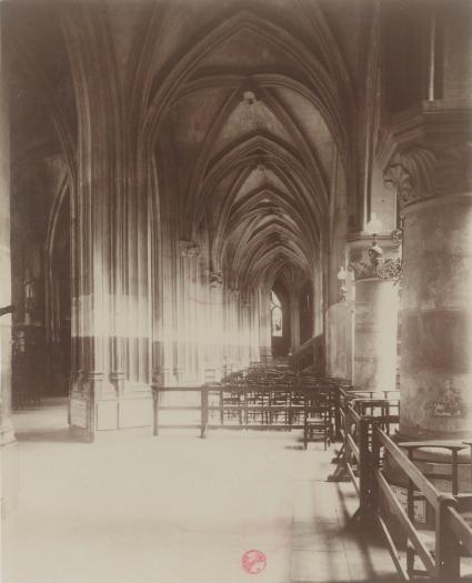 Eugène Atget - Eglise S.t Séverin - XVe s.