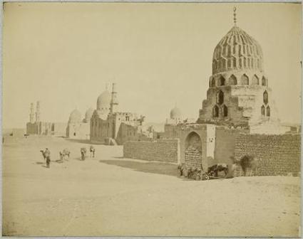 Félix Bonfils - Mosquée du sultan el Achraf ; Tombeaux des Mamelouks au Caire
