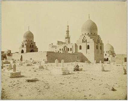 Félix Bonfils - Tombeaux des Mamelouks au Caire