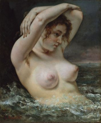 Gustave Courbet -La Femme dans les vagues, 1868