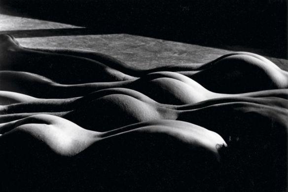 Lucien Clergue - Quatre nus à New York, 1983