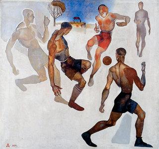 Alexander Deineka - Football, 1924