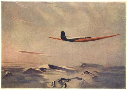 Alexander Deineka - The redwing giant, 1938
