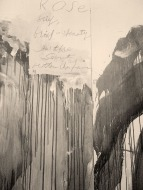 Cy Twombly - composition