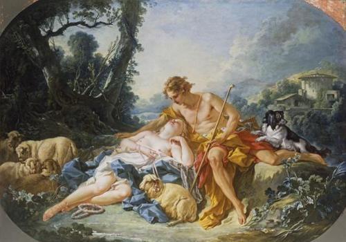 François Boucher - daphnis et Chloé, 1743