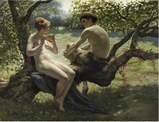Gaston Renault - Daphnis et Chloé, 1881