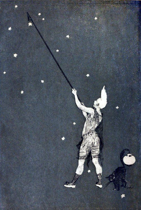 Henry Gerbault, back cover from Les éreintés de la vie (Life's shattered ones), by Félicien Champsaur, Paris, 1888.