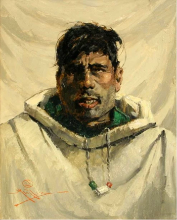 Ziegler Eustace Paul - A young Eskimoo