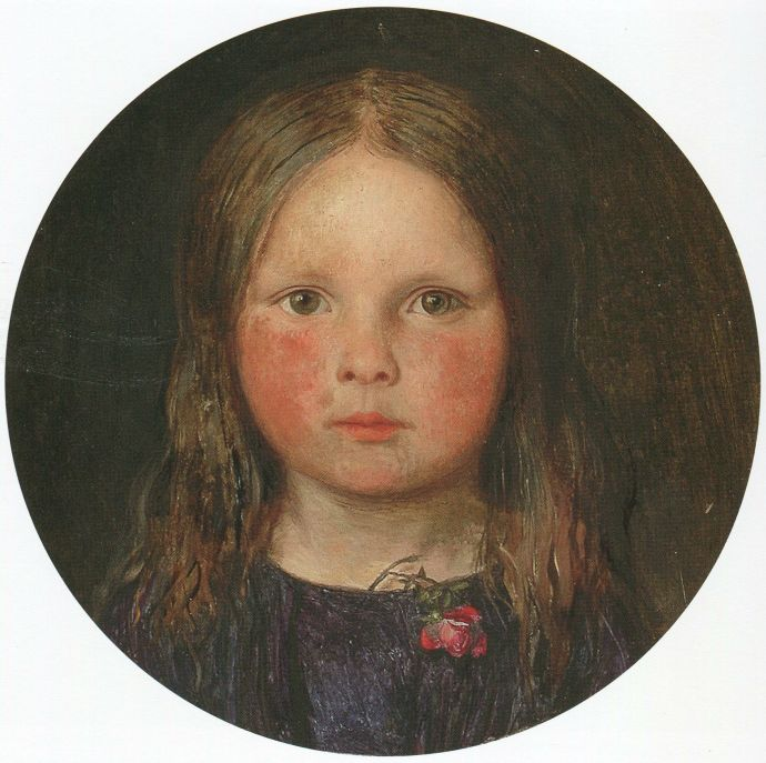 Ford Madox Brown - Lucy, first surviving daughter, 1849.jpg