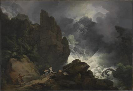 An Avalanche in the Alps 1803 Philip James De Loutherbourg 1740-1812 Presented by the Friends of the Tate Gallery 1965 http://www.tate.org.uk/art/work/T00772