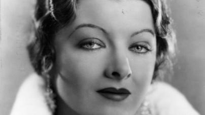 circa 1934: Myrna Loy (1905 - 1993), the Hollywood film actress, usually cast as an exotic vamp. In 1936, the height of her career she was declared 'Queen of the Movies'. (Photo by Hulton Archive/Getty Images)