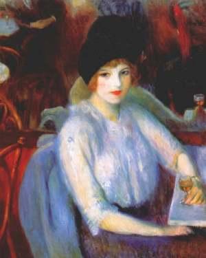 william-j-glackens-kay-laurell-au-cafe-lafayette-1914