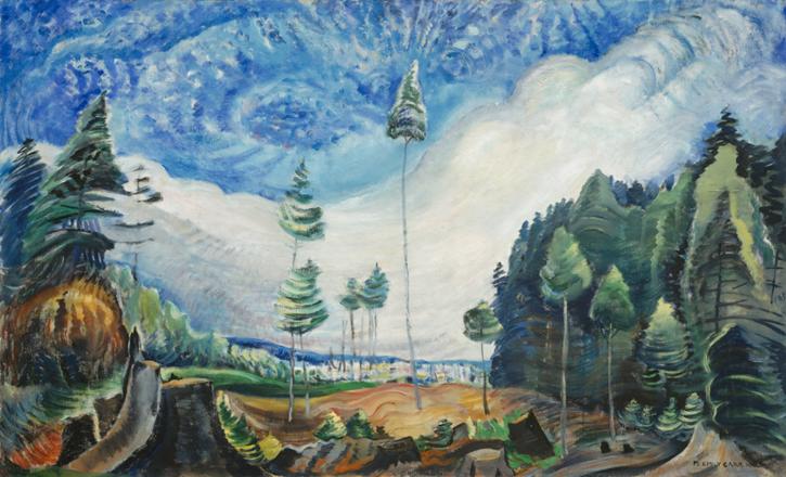 emily-carr-rebuts-de-bucherons-1935