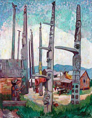 emily-carr-totem-ples-kitsegyukla-1912
