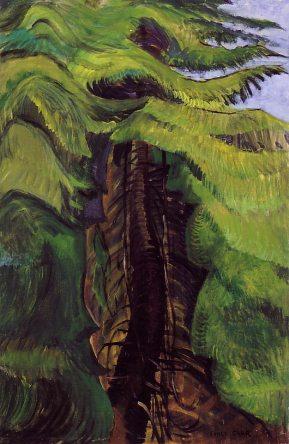 emilycarr-cedar-sanctuary-c1942