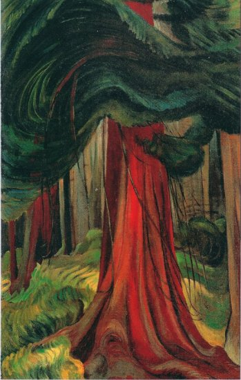 emilycarr-red-cedar-1931-33