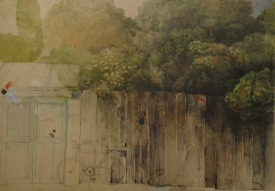 taraba-akvarel-olovka-u-boji-70x100cm-1987-1990