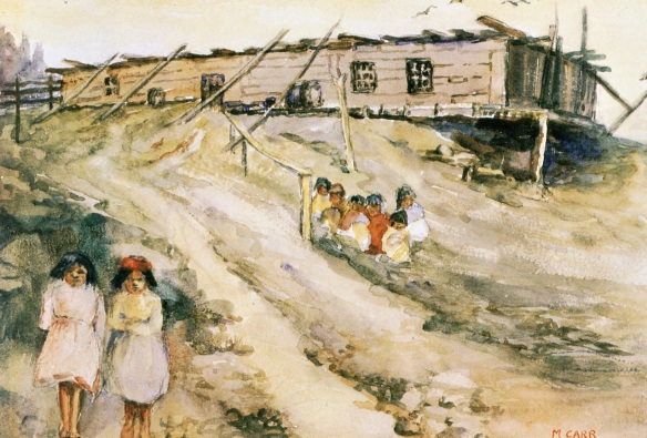 emily-carr-cedar-cannibal-house-ucluelet-b-c-1898-aquatelle