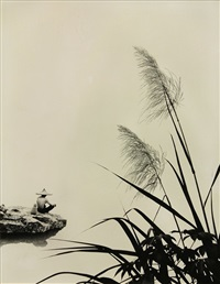 don-hong-oai-figure-in-hat-overlooking-a-lake