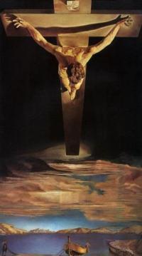 Christ de saint Jean de la Croix de Salvador Dalí